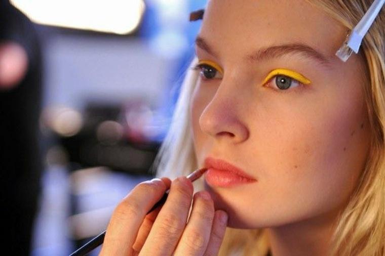 tendencia maquillaje amarillo