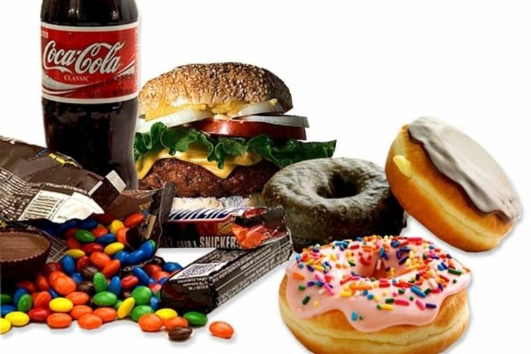 comida nutritiva-comida-basura