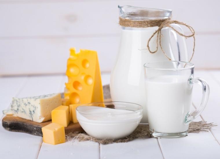 comida nutritiva-productos-lacteos