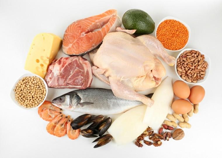 comidas saludables y ricas-proteinas