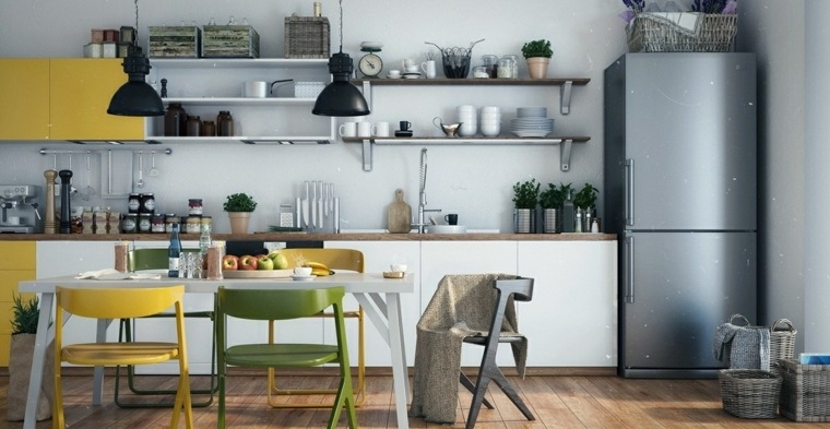 decoracion-para-cocinas-ideas-atractivas-colores-originales
