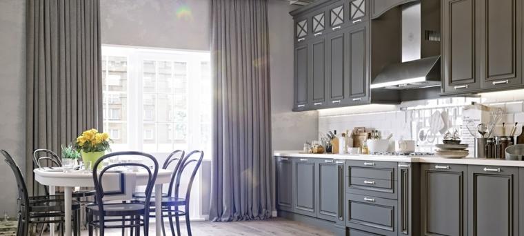 decoracion-para-cocinas-ideas-atractivas-estilo-clasico