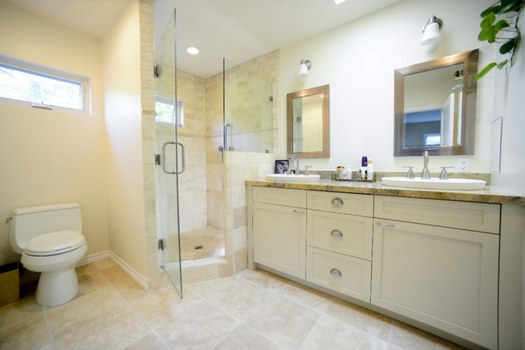 cabina de ducha moderna