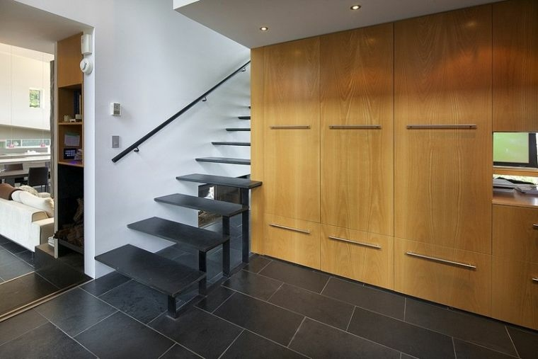 diseno de escaleras-elementos-negros