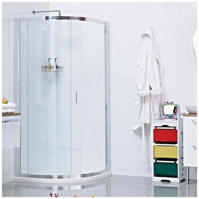 diseño de cabina de ducha moderna