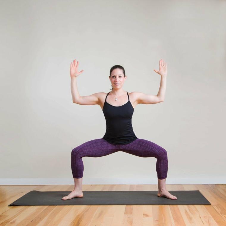 posturas y poses sencillas