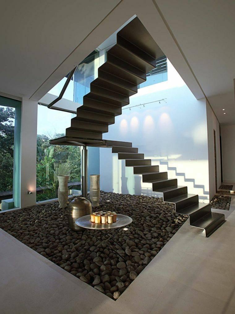 escaleras de caracol-elementos-negros