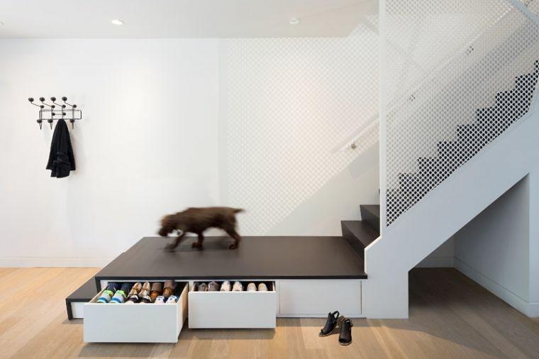 escaleras de metal-elementos-negros