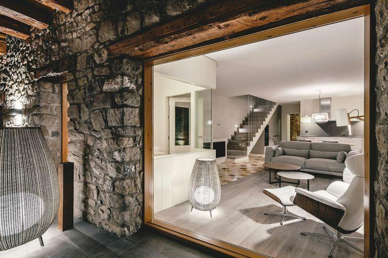 escaleras de metal-interiores-modernos