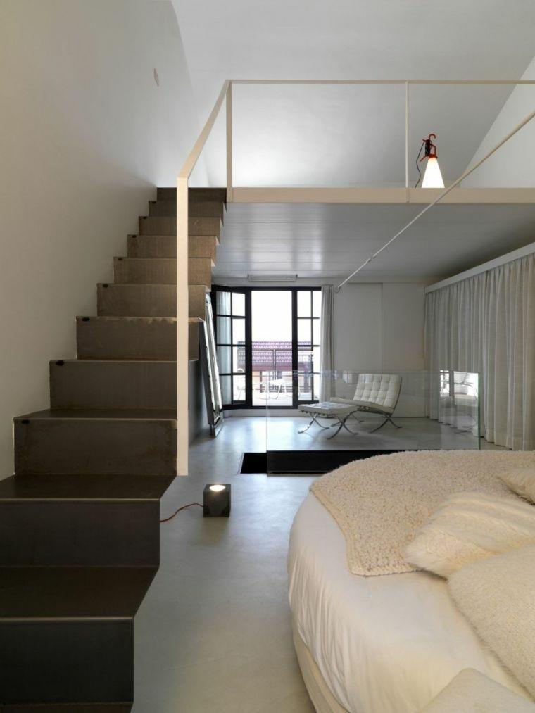 escaleras para interiores-modernos-negro