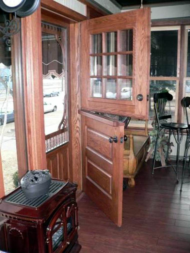 puerta holandesa rústica