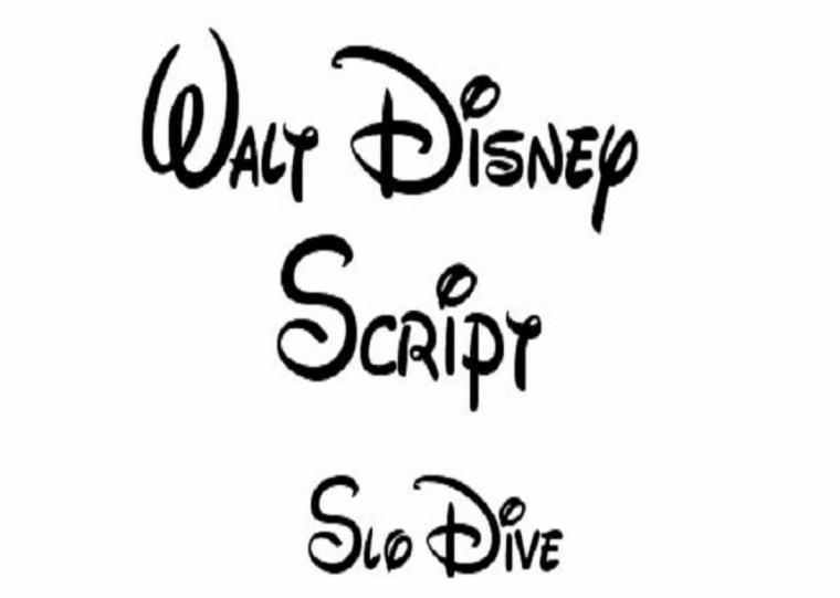 letras para tatuajes Disney