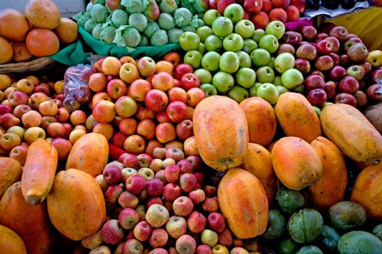 frutas y verduras mercado
