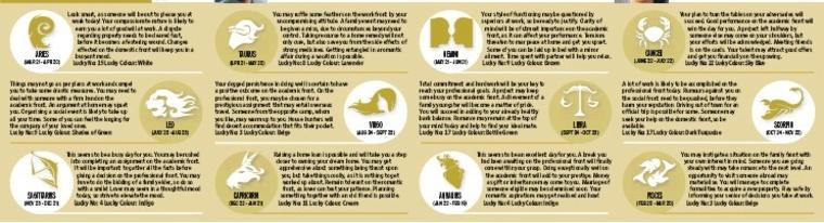 horóscopo del día del-periódico