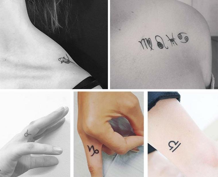 Originales diseños de tattoos pequeños
