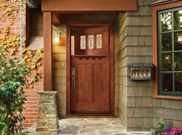 puerta Estilo holandés tradicional