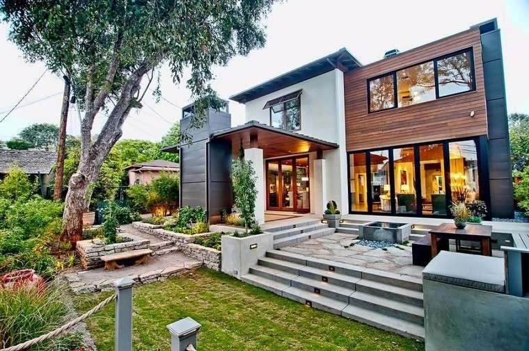 jardines-de-casas-ideas-diseno-varios-niveles