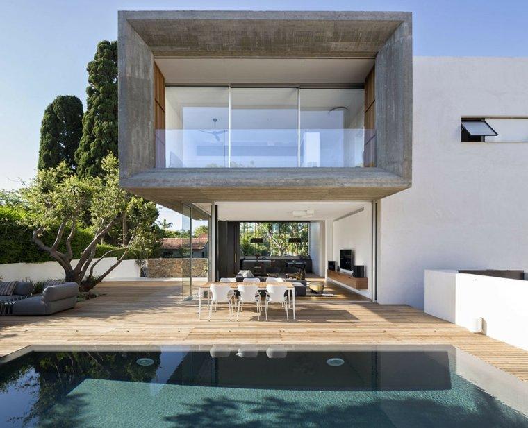 jardines de casas-piscina-disenos