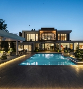 la casa con-piscina