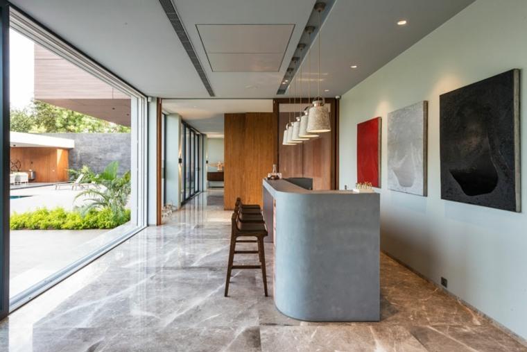 la casa moderna-barra