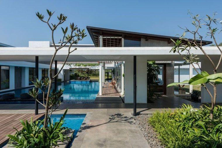 la casa moderna