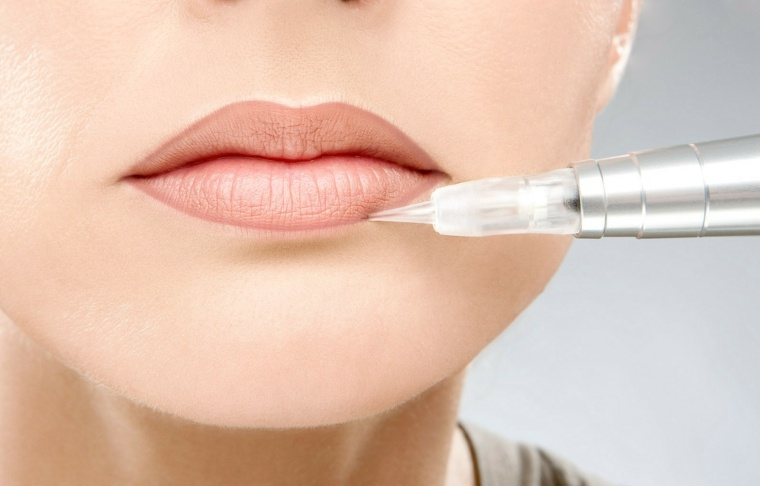 maquillaje de labios-contorneado