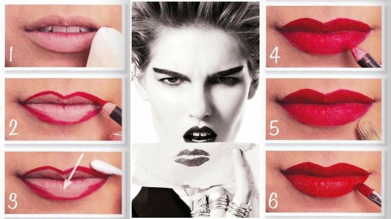 maquillaje de labios-facil-casa
