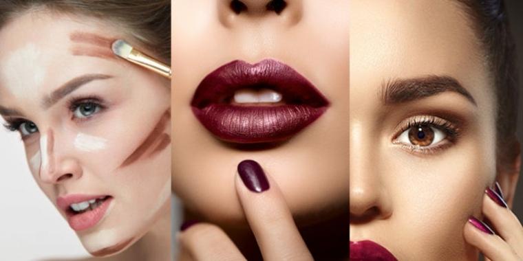Tendencias y maquillaje de moda