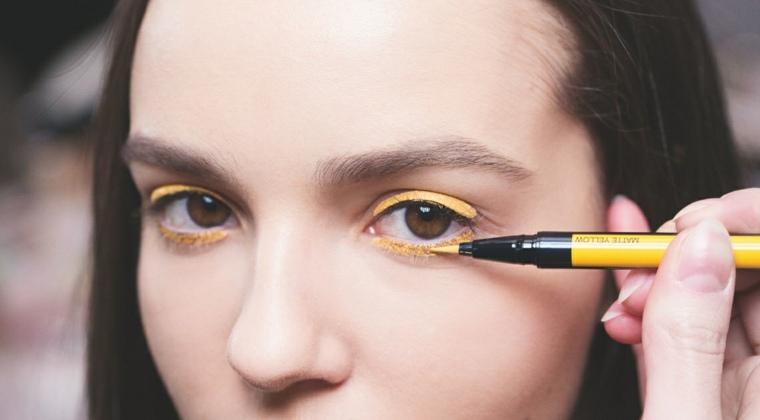 tendencias en maquillaje con delineador