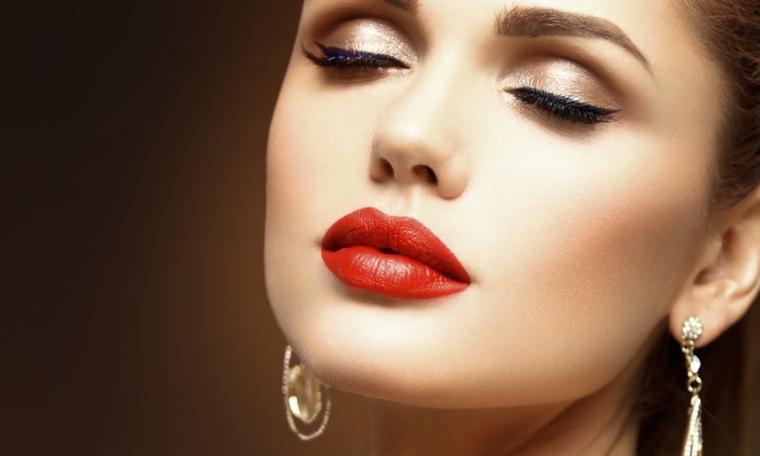 maquillaje sencillo-contorneado-labios