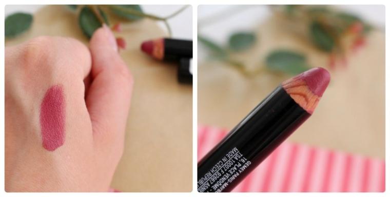 maquillaje sencillo-labios-lapices