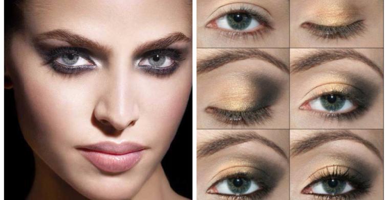 mejor-maquillaje-verano-estilo-ahumado-dorado