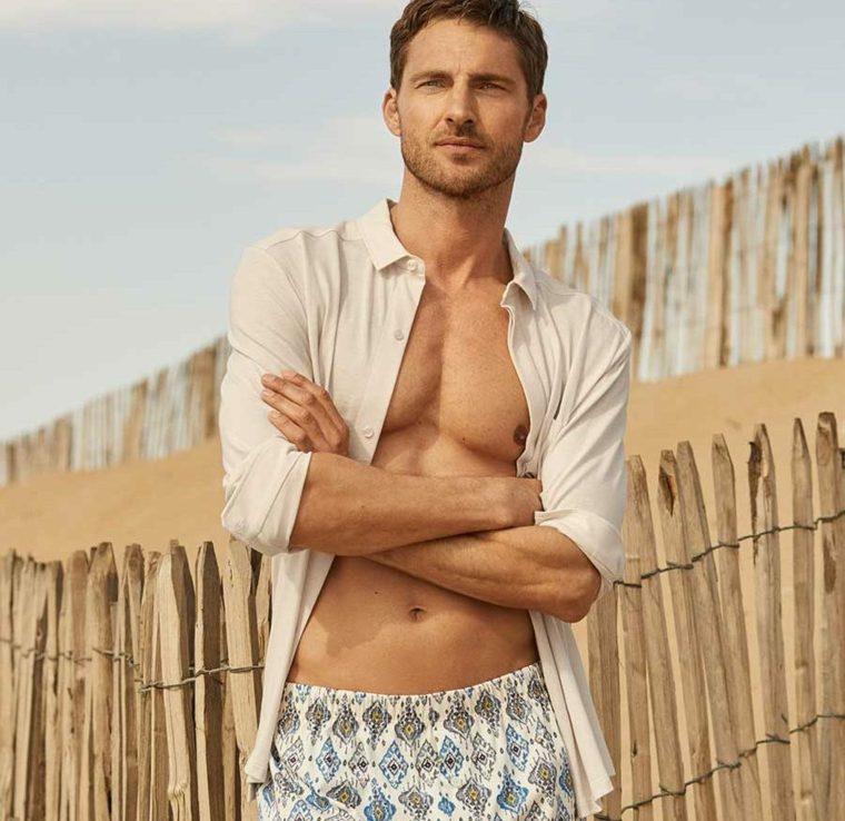 moda hombre-playa-camisa