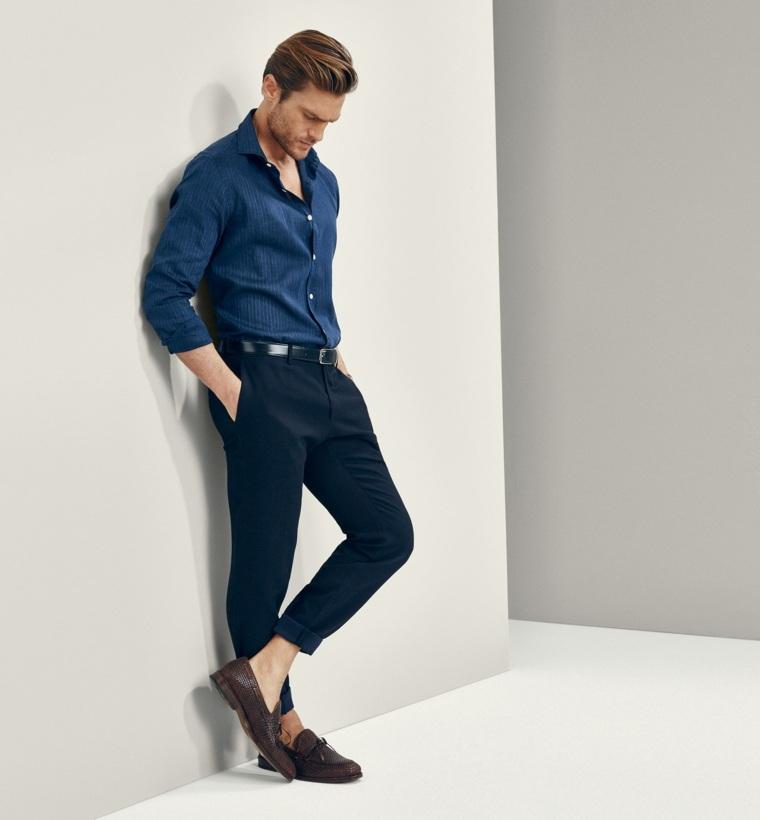 moda masculina-pantalones-pitillo