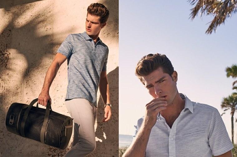 moda para hombres-casuales-playa