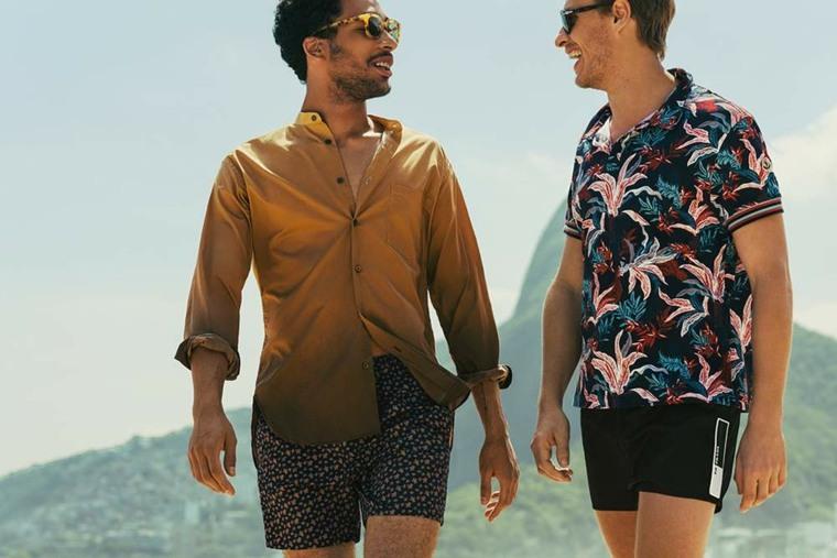moda para hombres-verano-camisas