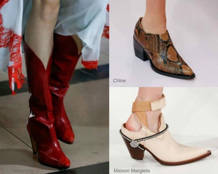 Zapatos peligrosos de piel de serpiente