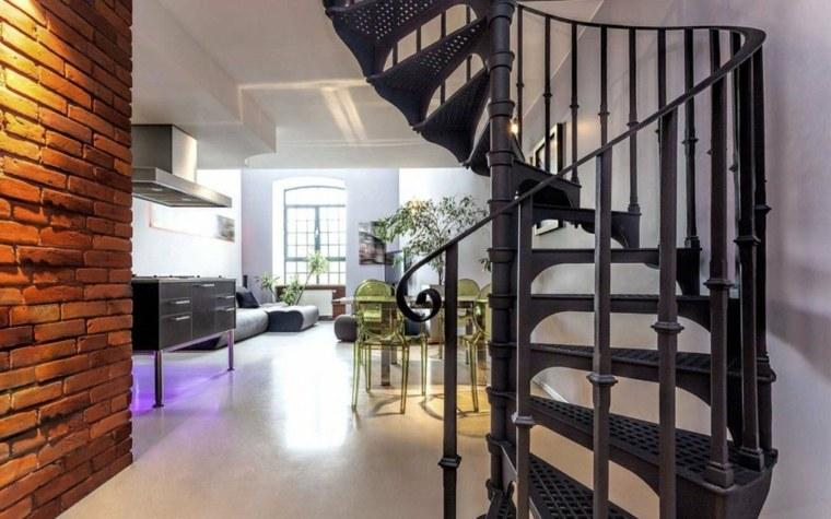 modelos de escaleras-elementos-negros
