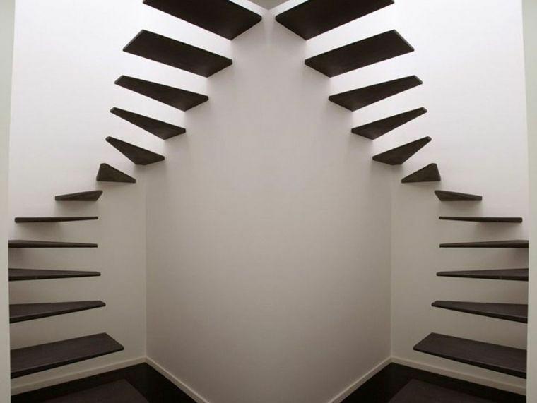 modelos de escaleras-flotantes-interiores