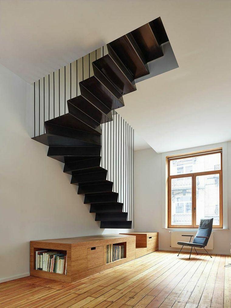 modelos de escaleras-modernas-interiores