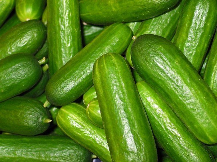 Los pepinos estimulan la hidratación del cuerpo