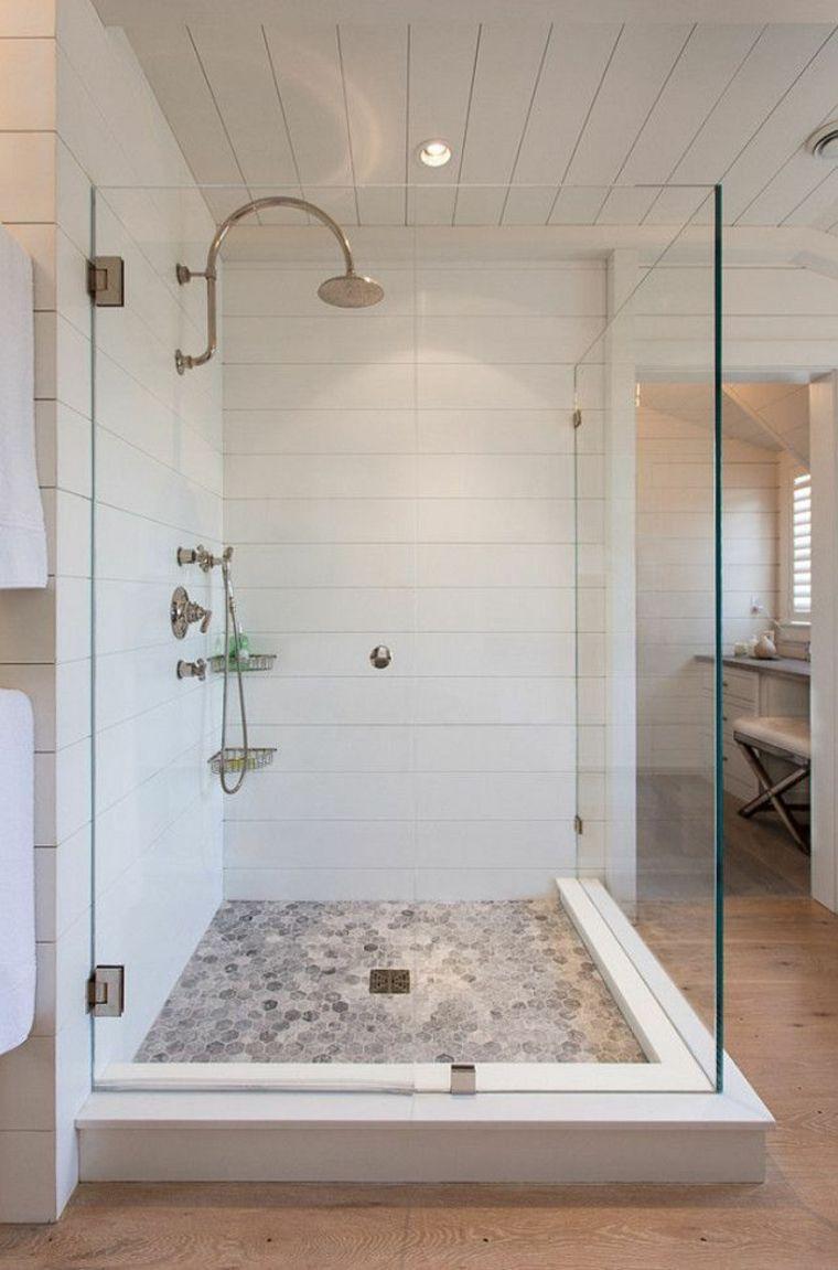 originqal cabina de ducha con puerta de vidrio