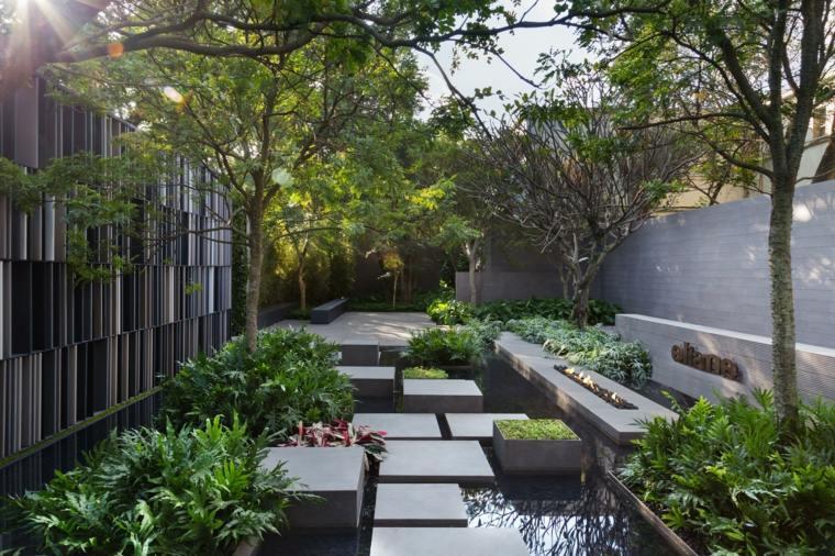 paisajismo-jardin-pequeno-opciones-agua-plantas