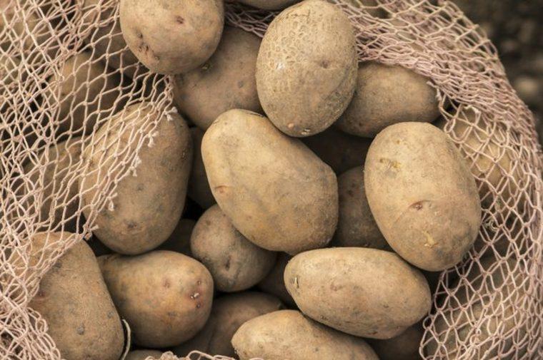 Datos nutricionales de las patatas