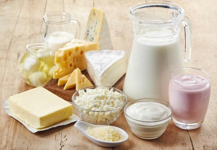piramide de alimentos-productos-lacteos