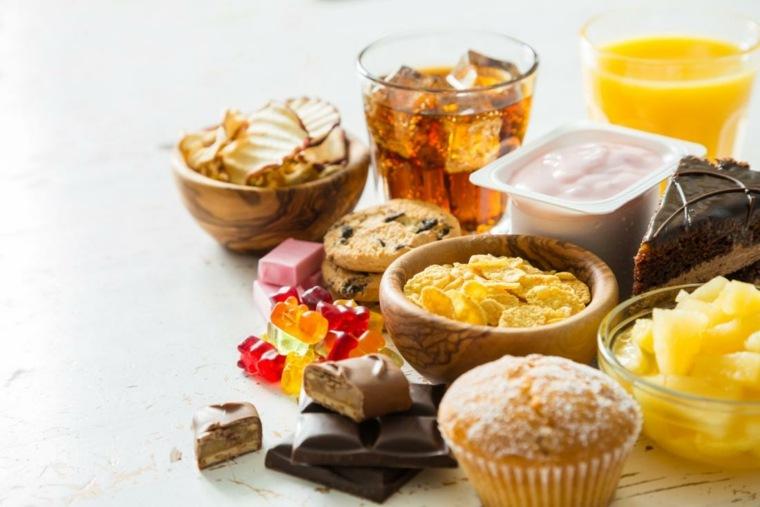 piramide del buen comer-dulces