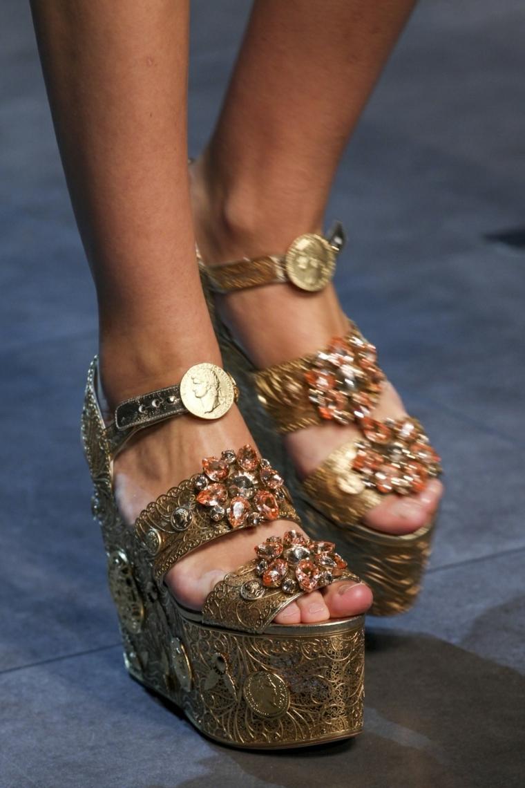 sandalias de moda plataformas