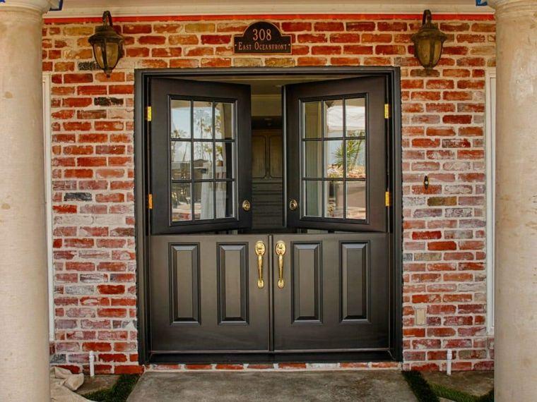 puertas de estilo holandés