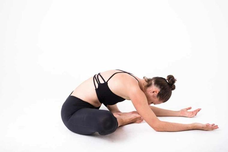 sencillas poses de yoga
