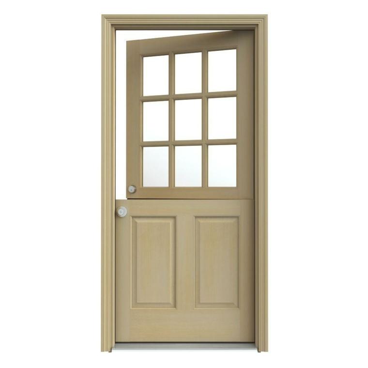 puerta holandesa simple